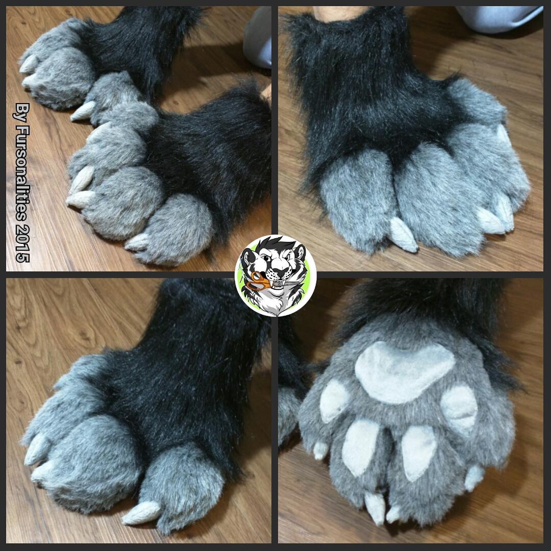 deathfox feral paws  u2014 weasyl