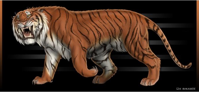 Caspian Tiger — Weasyl