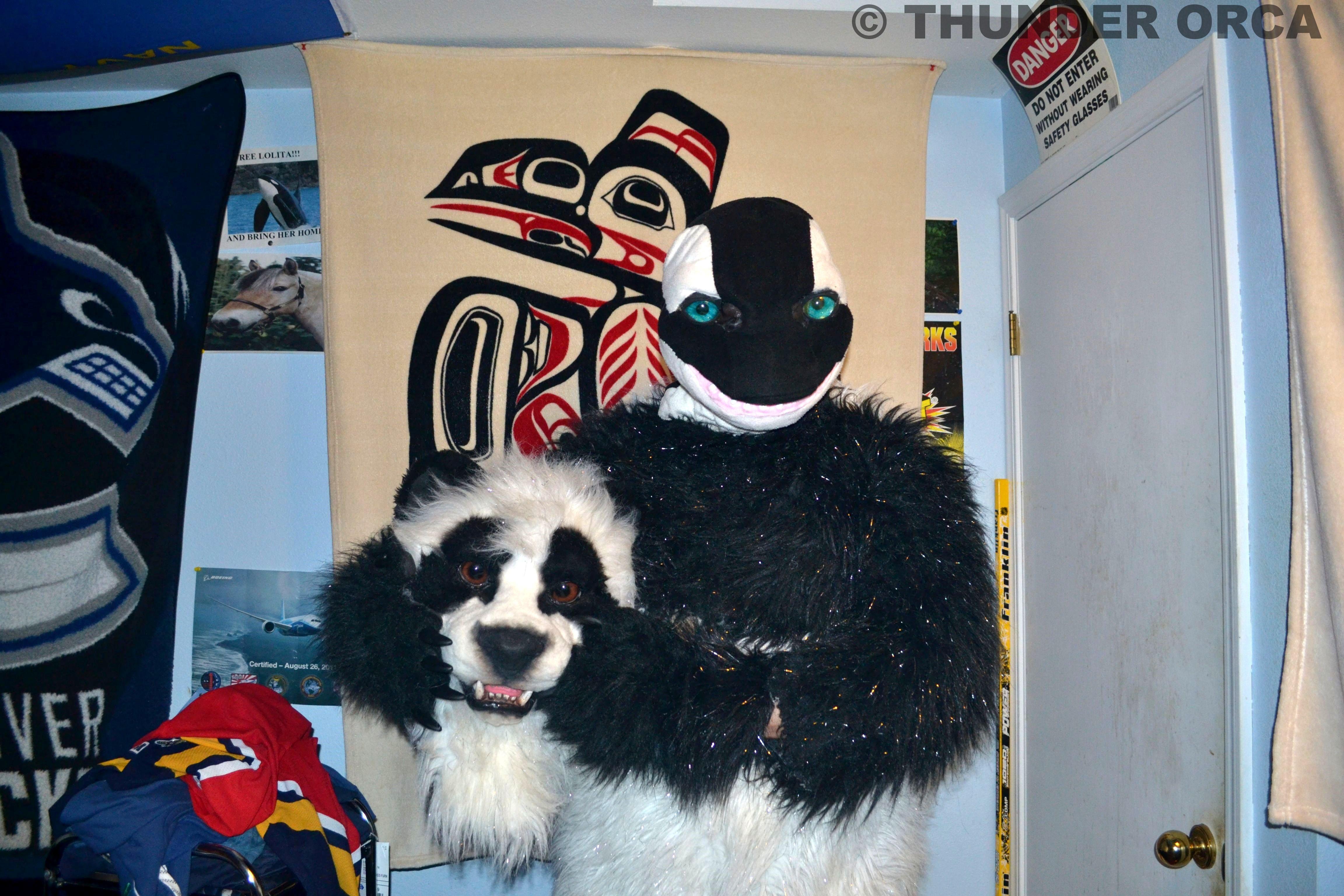 Fursuit Panda my panda fursuit. ^_^ (part 17) — weasyl
