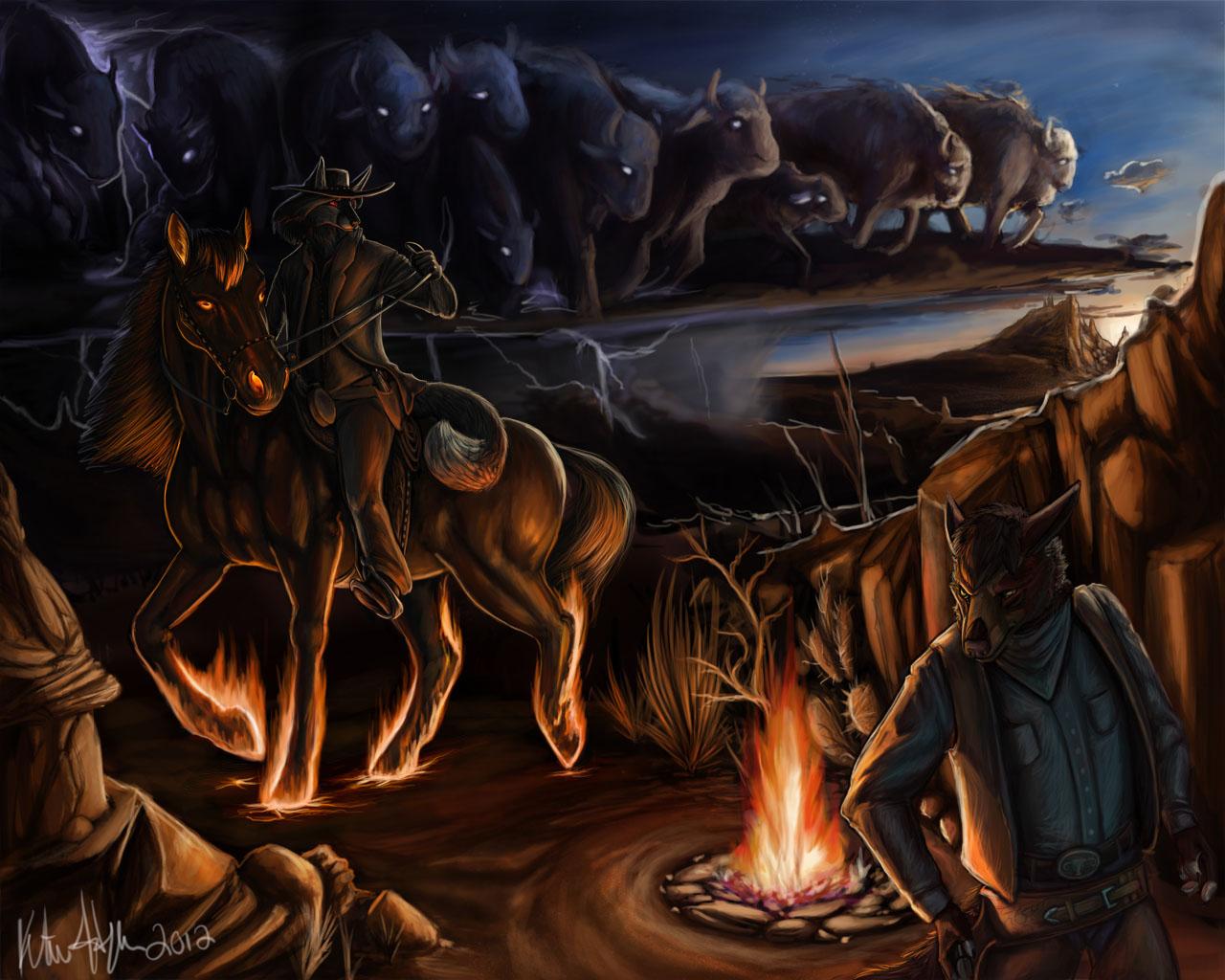 Ghost Riders in the Sky — Weasyl