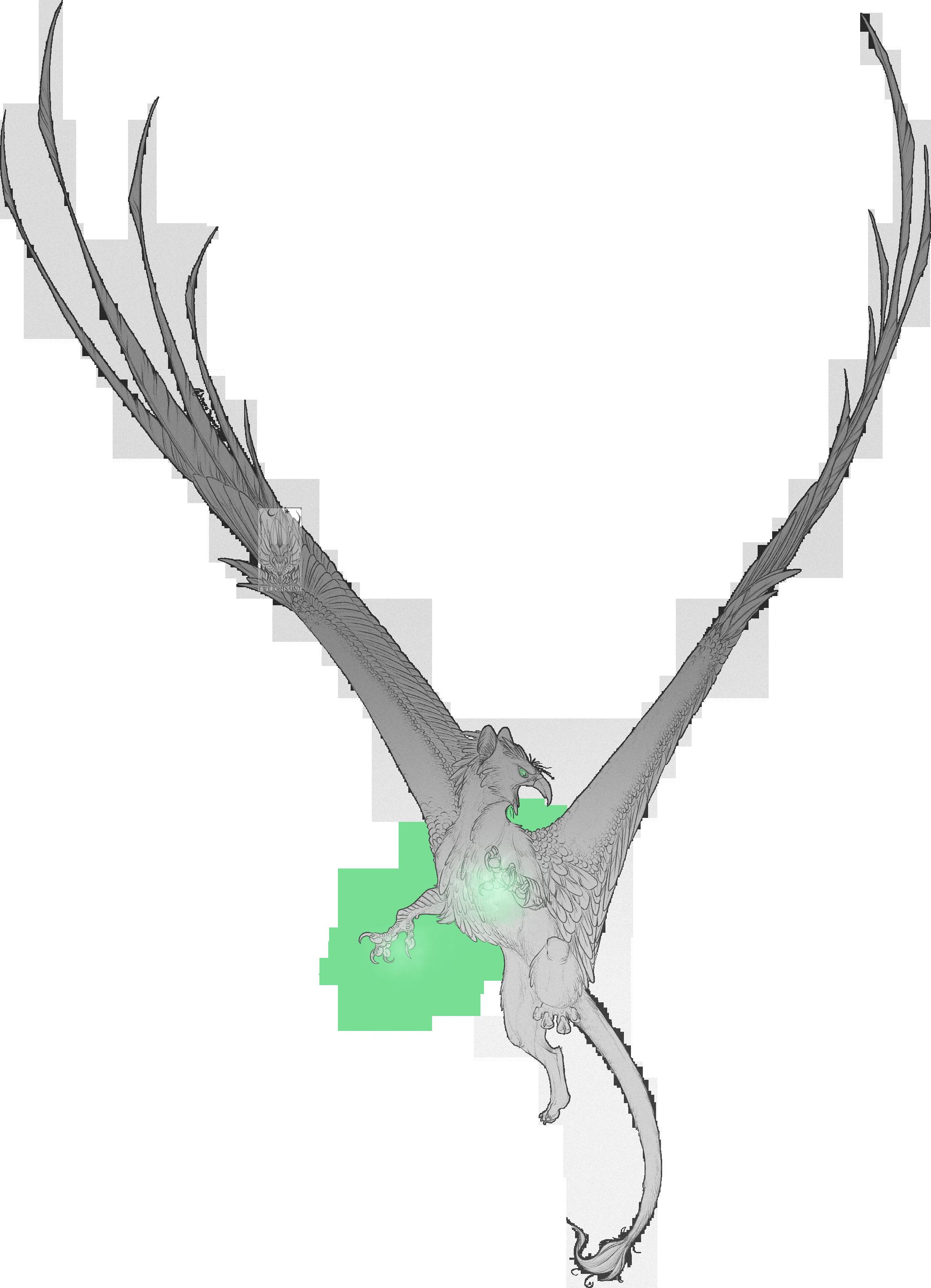 Sketch Comish Enchanted Talons Weasyl