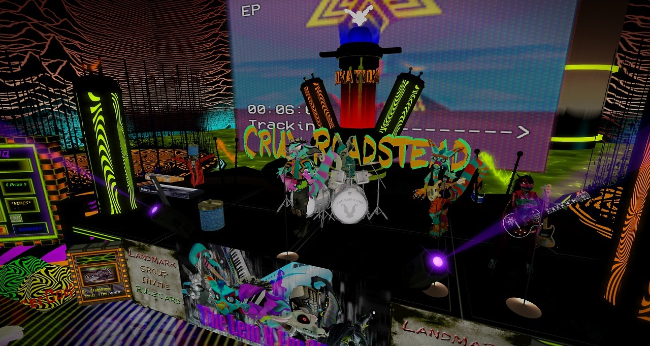 vaporwave with Lem n Em show — Weasyl