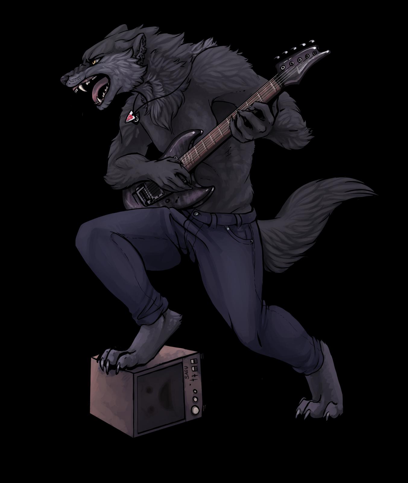 Rocking out — weasyl