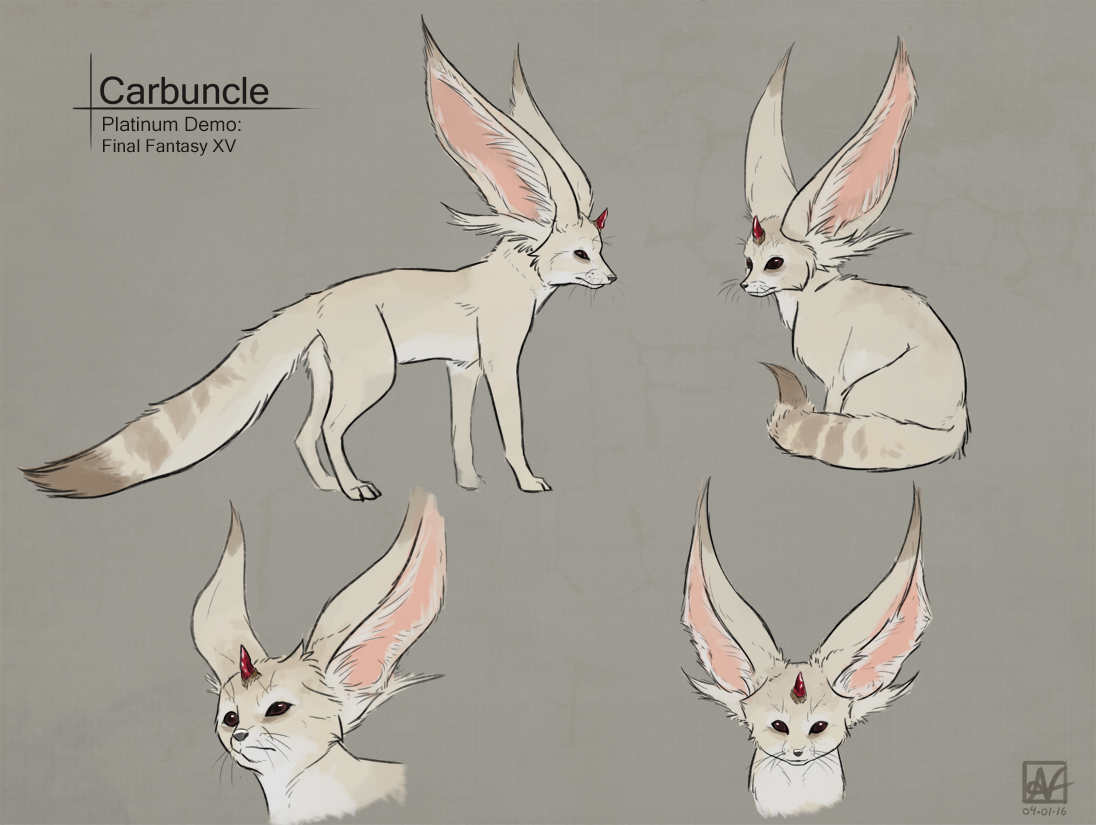 ff15 carbuncle by invaderdeepsauce - photo #3