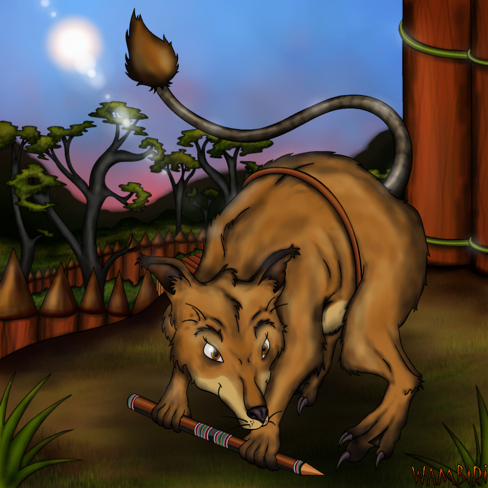 Warriors Come Out And Play Download: Female Bandicoot Warrior