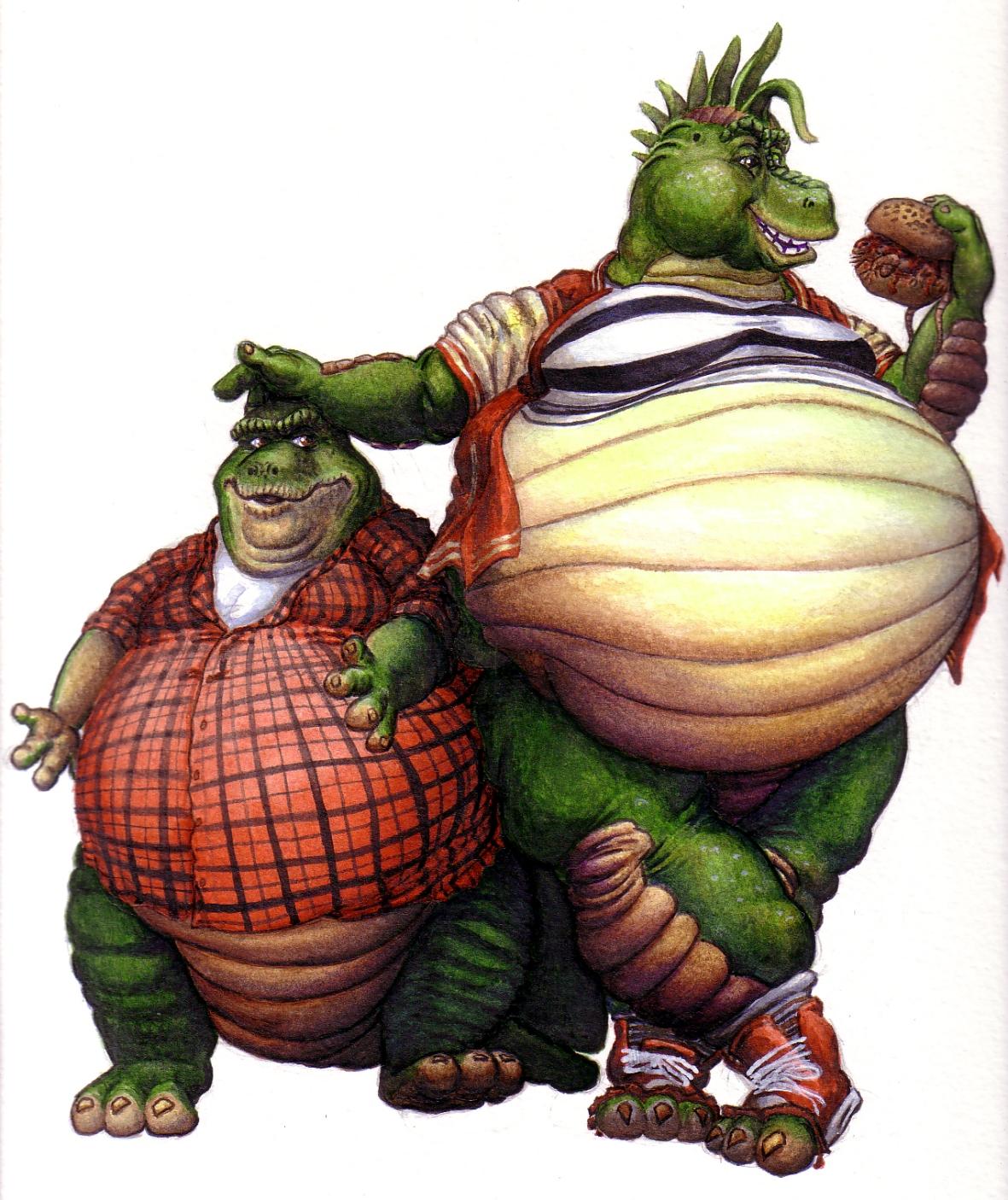 Jim Hensons Dinosaurs- Robbies Grown  Weasyl-2919