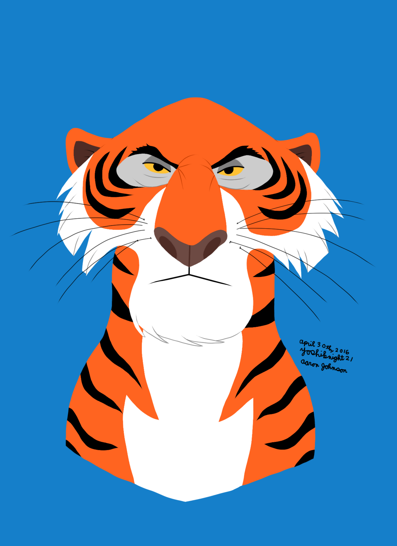 shere khan as the enemy in mowglis Ch 5: mowgli's song that he sang at the council rock when he danced on shere khan's hide the song of mowgli--i, mowgli, am singing let the jungle.