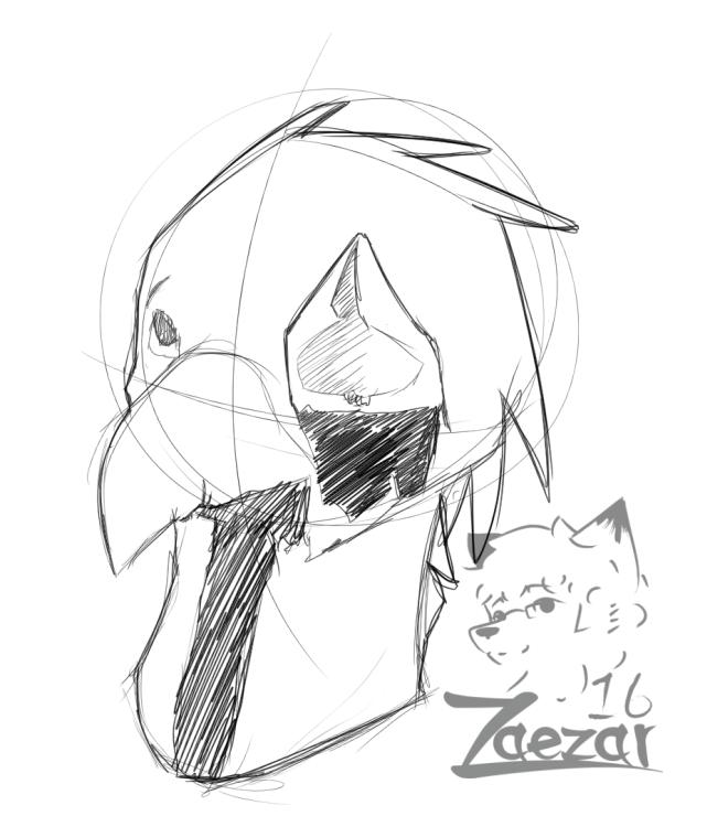Doodle- Ded Birb — Weasyl