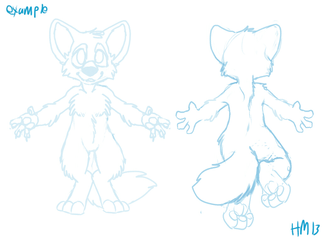 chibi references back and front layout examples weasyl chibi references back and front layout examples