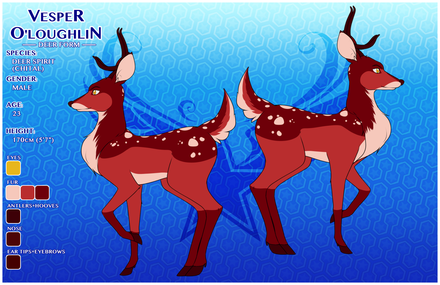 O Deer Vesper Ou0027Loughlin Deer Form Reference