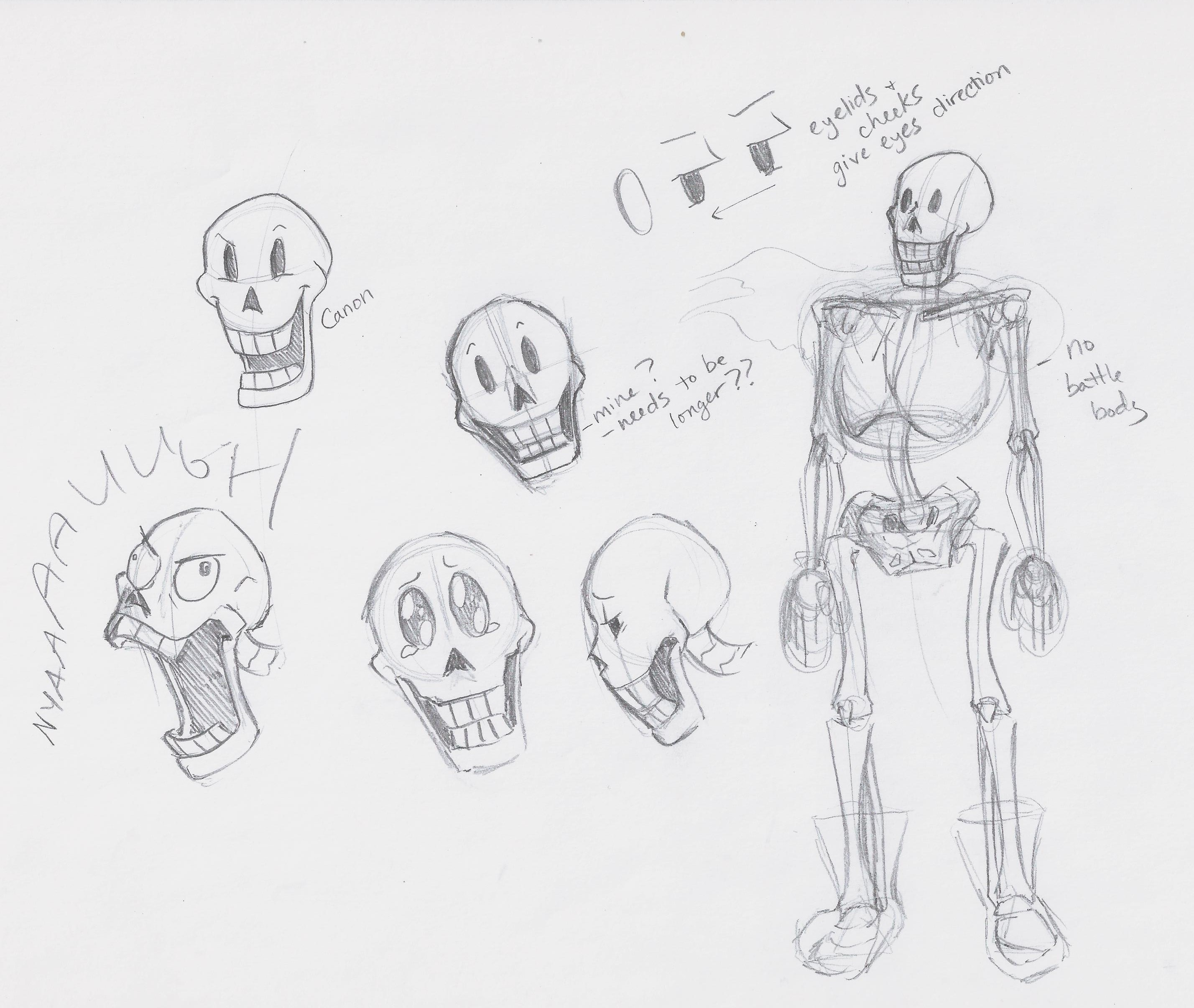 Papyrus Is Hard To Draw